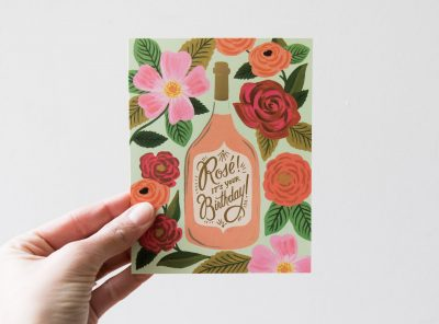 Carte - Rosé Rifle paper co - Maison mathuvu