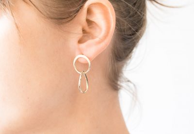Boucles d'oreilles - Perle de rosée my sen - maison mathuvu