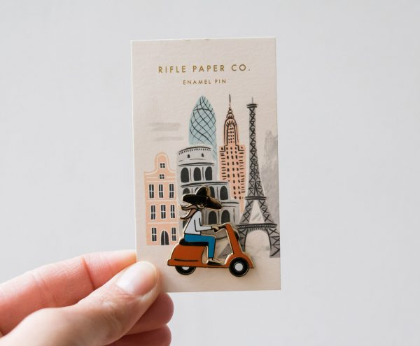 Pin's - Vespa Rifle paper co - Maison Mathuvu
