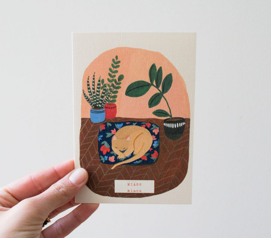 Carte - Miaou season paper - maison mathuvu