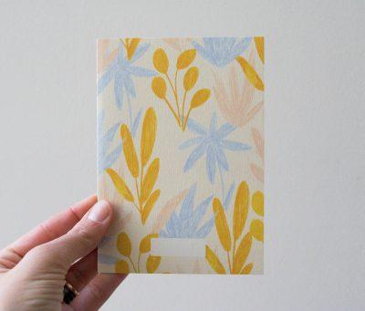 Carte - Pampa Sesaon paper - maison mathuvu
