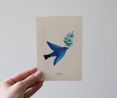 Carte - Peace season paper - maison mathuvu