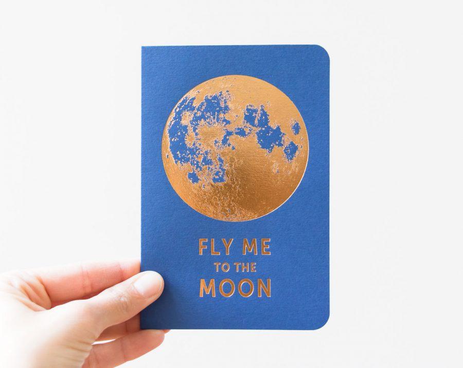 Carte - Fly me to the moon les éditions du paon - maison mathuvu
