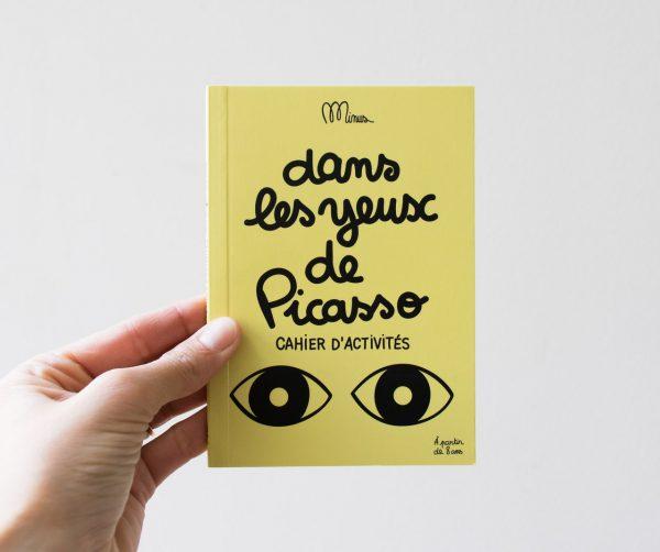 Dans les yeux de Picasso minus editions - maison mathuvu