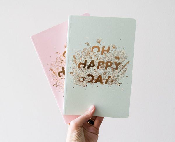 Grand carnet - Happy day les éditions du paon - Maison mathuvu