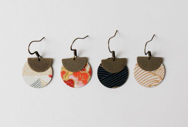 Boucles d'oreilles Lili - Cercle Maison Mathuvu