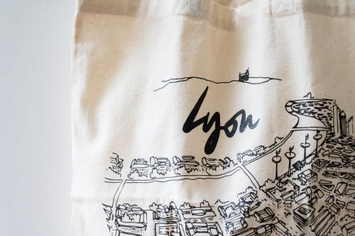 Tote bag Lyon Emilie Ettori - Maison Mathuvu