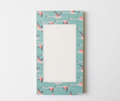 Bloc-notes - Flamingo Season paper - maison mathuvu