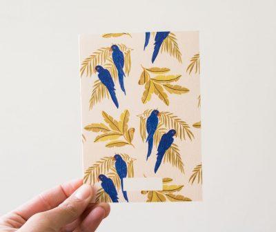 Carte - Parrots Season paper - maison mathuvu