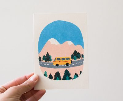 Carte - Mini bus season paper - maison mathuvu