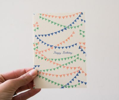 Carte - Fanions season paper - maison mathuvu
