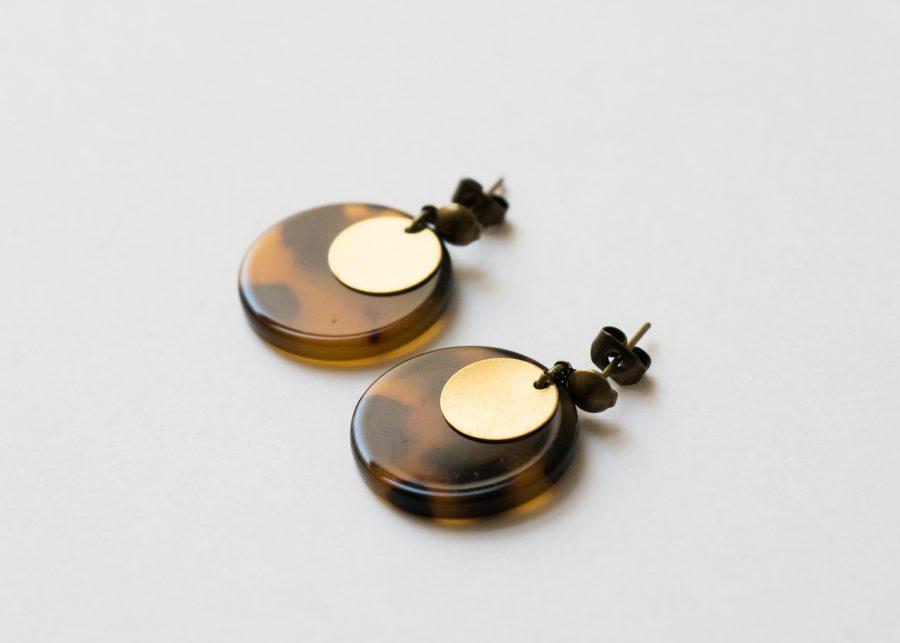 Boucles d'oreilles - Séléné Maison Mathuvu