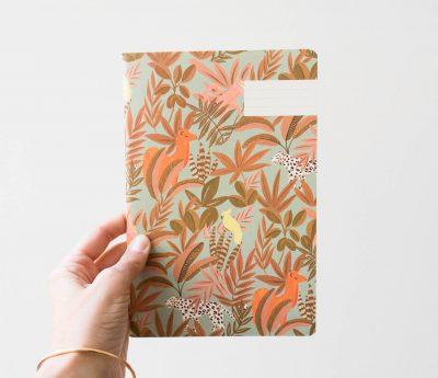 Carnet - Animalia Spring Season paper - maison mathuvu