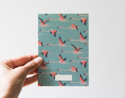 Carte - Flamingo season paper - maison mathuvu