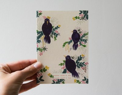 Carte - Birds season paper - maison mathuvu
