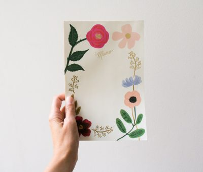 Memo - Garden party Rifle paper co - maison mathuvu