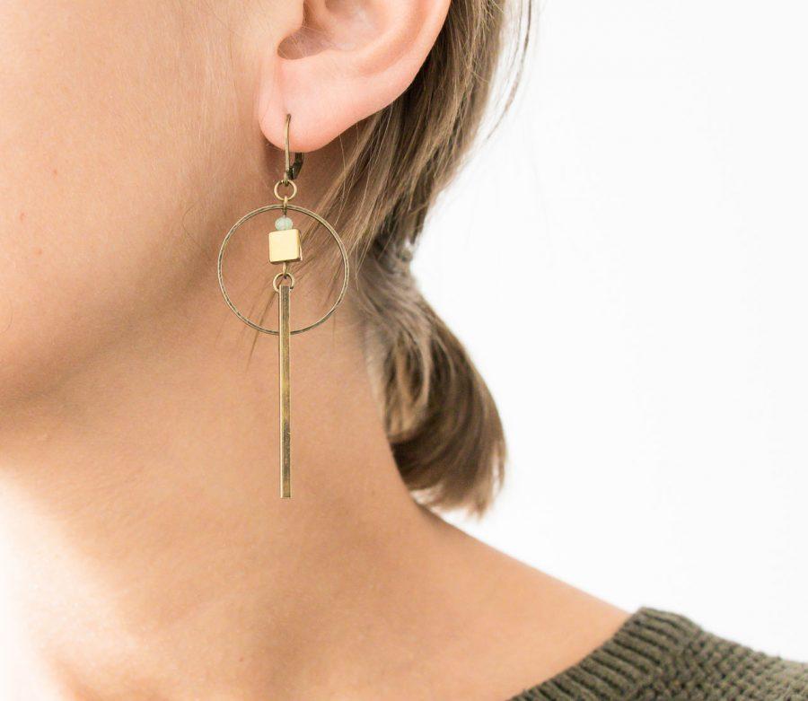 Boucles d'oreilles - Phy Jisalée - maison mathuvu