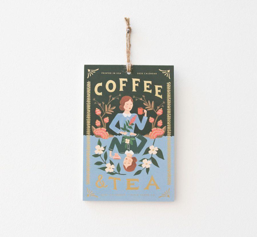 Calendrier 2020 - Coffee & tea Rifle paper co - maison mathuvu