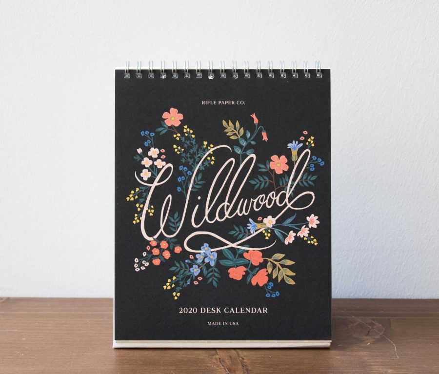 Calendrier 2020 - Wildwood rifle paper co - maison mathuvu