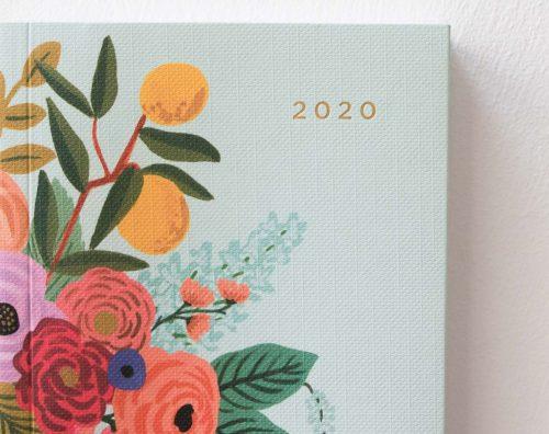 Agenda 2020 - Pocket Rifle paper co - maison mathuvu