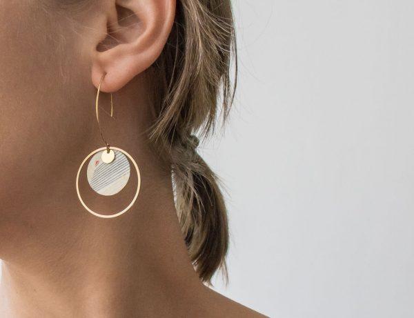 Boucles d'oreilles - Lili longue Maison mathuvu