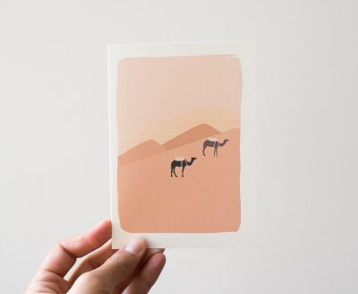 Carte - Desert Atelier bobbie - maison mathuvu