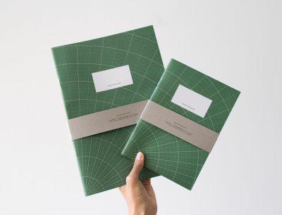 Set 2 carnets - Géométrie Monograph - Maison Mathuvu