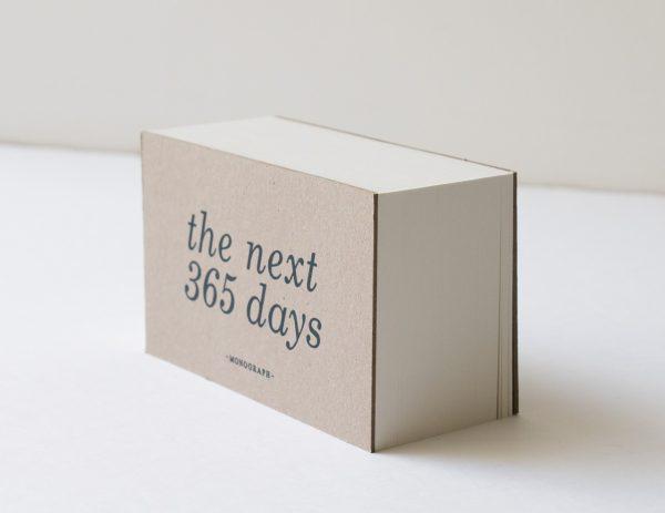 Bloc-notes - 365 jours Monograph - maison mathuvu