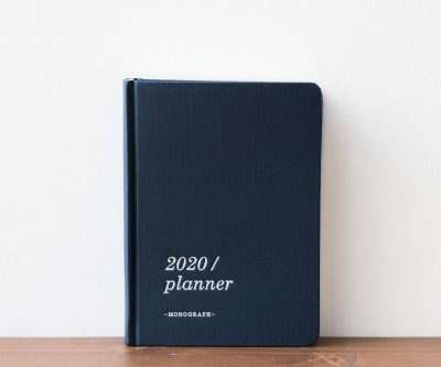 Agenda 2020 - Bleu Monograph - Maison Mathuvu
