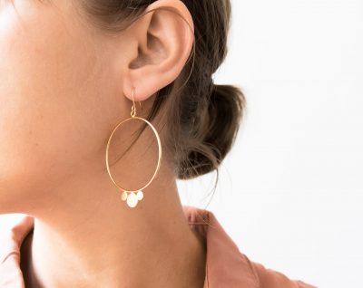 Boucles d'oreilles - Oneida Stanka Mila - maison mathuvu