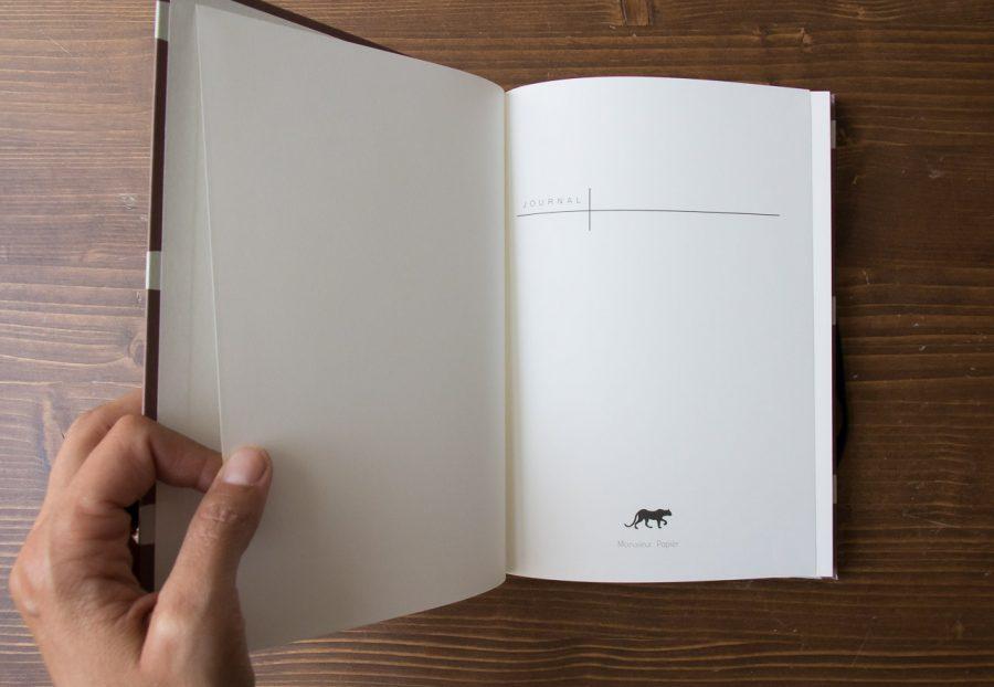 Journal - Avion Monsieur papier - maison mathuvu