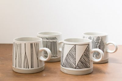 Set de 4 tasses - Eliana Bloomingville - Maison mathuvu