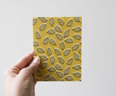 Carnet mini - Feuillaison Monsieur papier - maison mathuvu