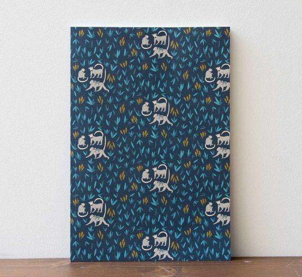 Carnet A4 - Bananeraie Monsieur papier - maison mathuvu