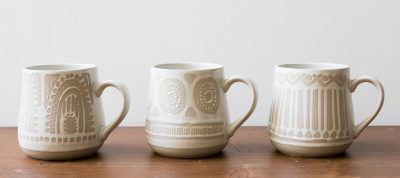 Set de 4 tasses - Cora Bloomingville - maison mathuvu