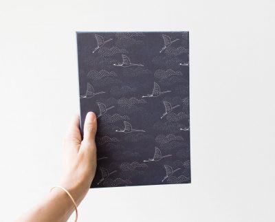 Papier à lettre - Vol de nuit Monsieur papier - maison mathuvu