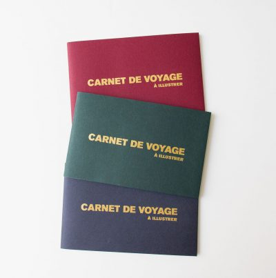 Carnet de voyage à illustrer Supereditions - maison mathuvu