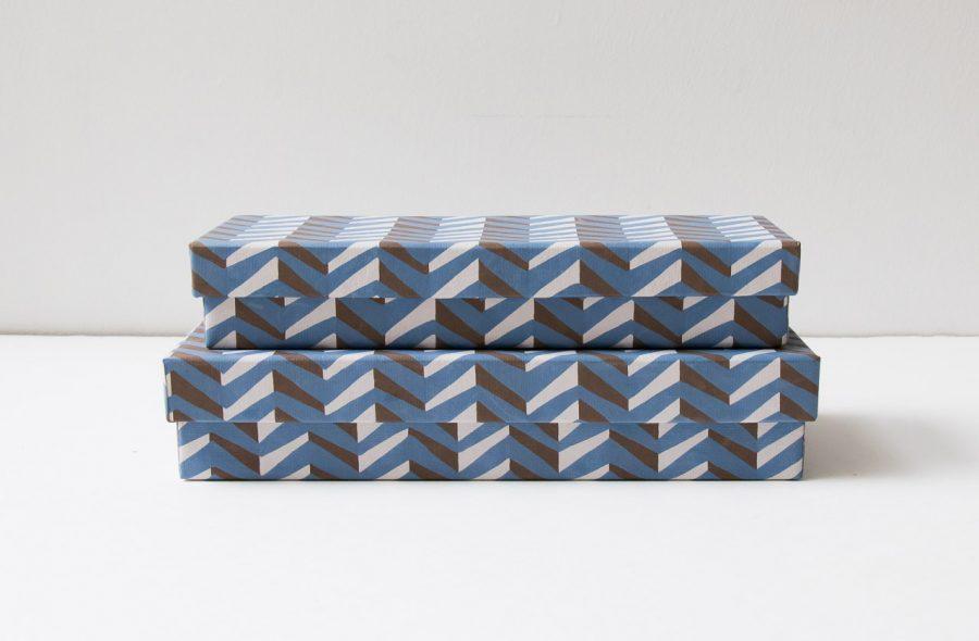 Boîte à crayons - Géométrie Bungalow - maison mathuvu