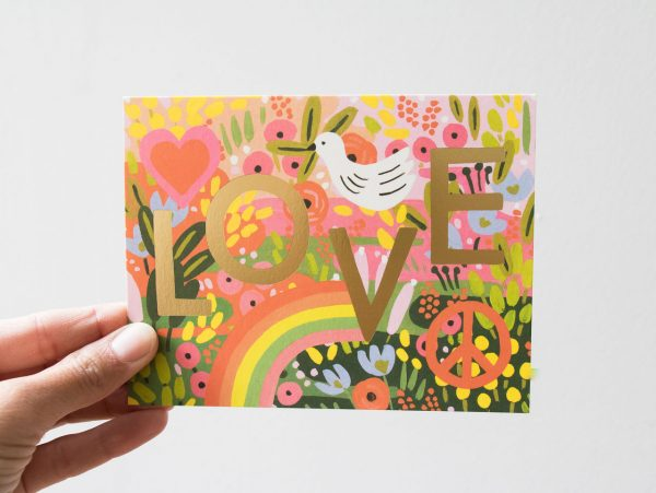Carte - Love Rifle paper co - maison mathuvu