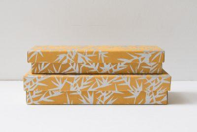 Boîte à crayons - Feuillage argenté Bungalow - maison mathuvu
