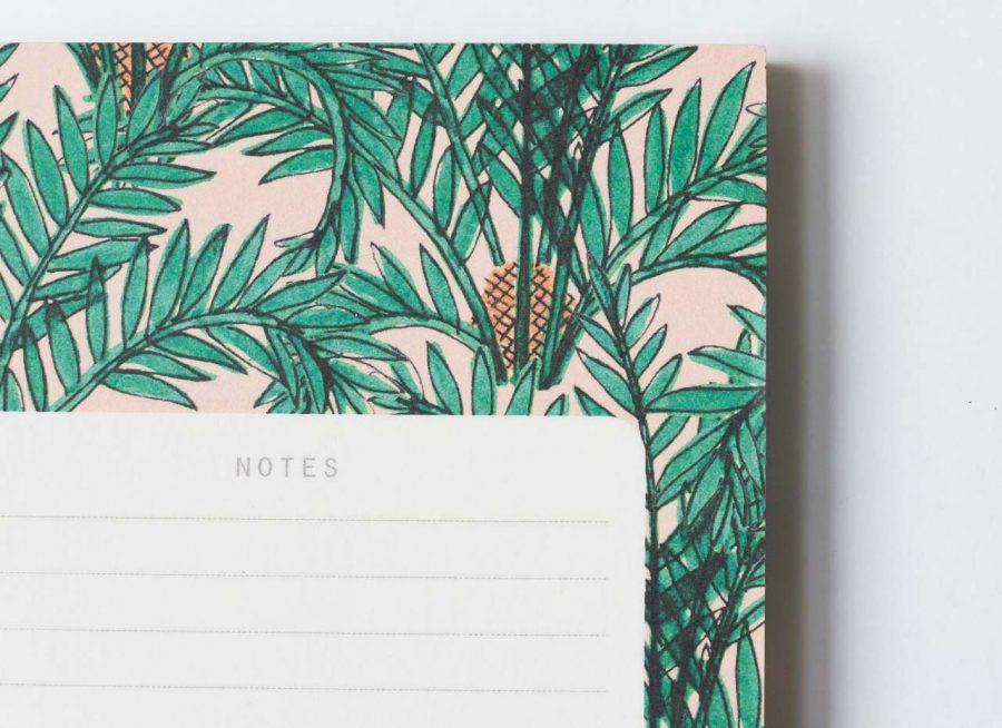 Bloc-notes - Botanique Season paper - maison mathuvu