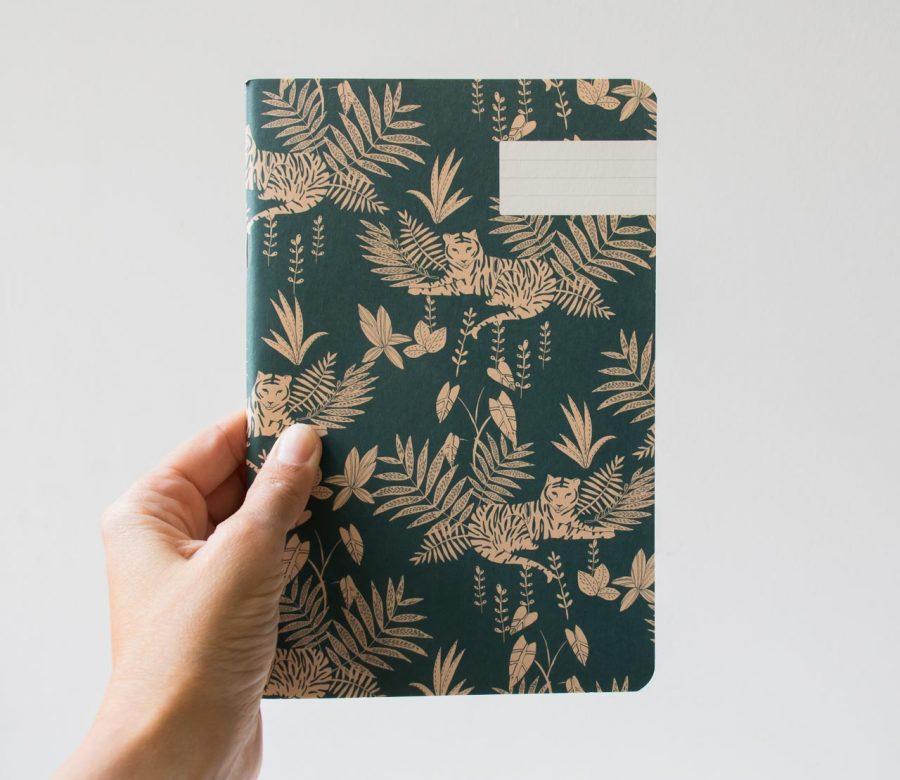 Carnet - Jungle Season paper - maison mathuvu
