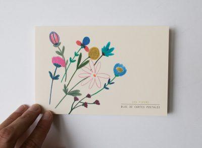 Bloc de cartes - Fleurs Season paper - maison mathuvu
