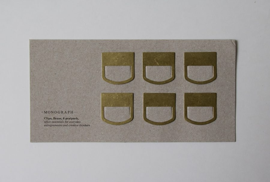 Clips - Laiton Monograph - maison mathuvu