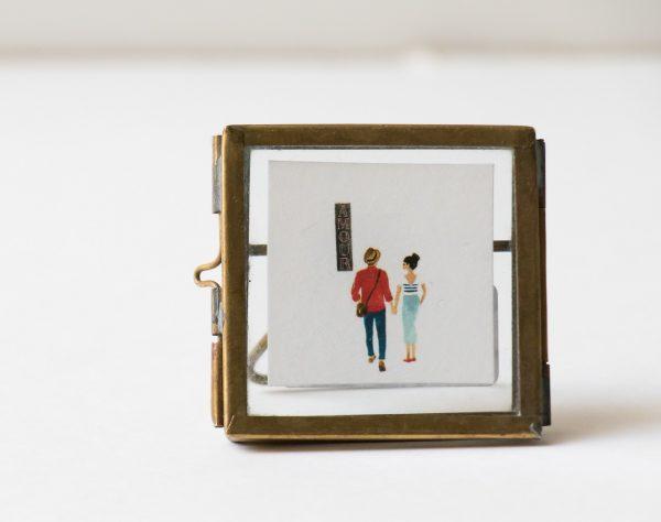 Cadre mini à poser Nkuku Maison Mathûvû