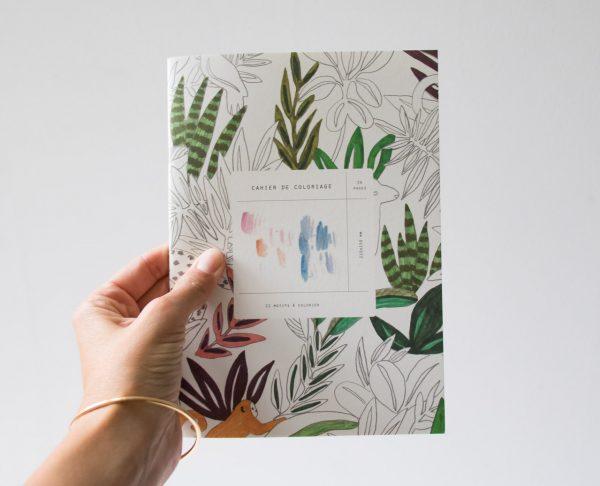 Cahier de coloriage Season paper - maison mathuvu