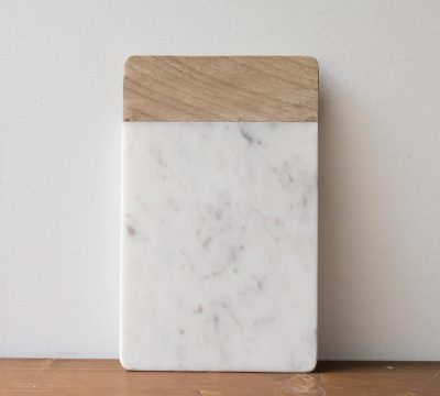 Planche marbre et bois - Bwari long Nkuku - maison mathuvu