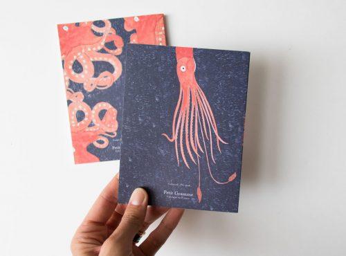 Set de 2 carnets - Fond marin Petit gramme - maison mathuvu