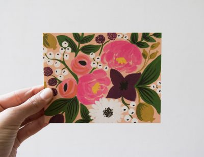 Carte - Bouquet Rifle paper co - maison mathuvu