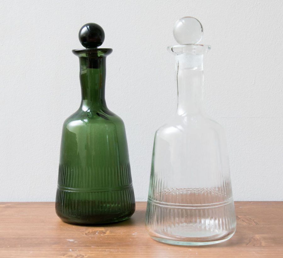 Carafe en verre - Mila Nkuku - maison mathuvu